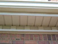 Continuous aluminum gutters and soffitt systems